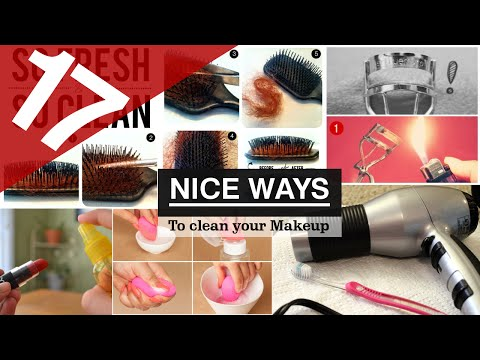 17 Makeup cleaning ideas