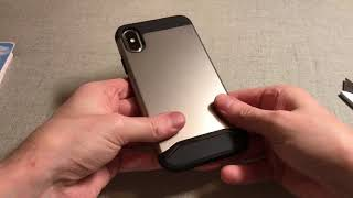 Tudia Merge Case For iPhone X Unboxing and Review