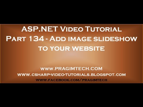 Add image slideshow to your website using asp net ajax and c#   Part 134