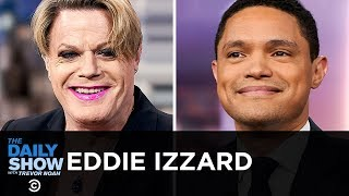 """Eddie Izzard - """"Wunderbar"""" and Moving from Comedy to Politics   The Daily Show"""
