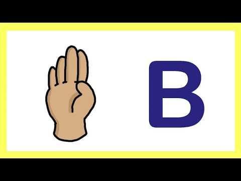 Alphabet in Irish Sign Language
