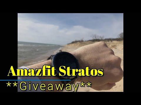 Amazfit Stratos GIVEAWAY + Amazfit Bip GIVEAWAY x2