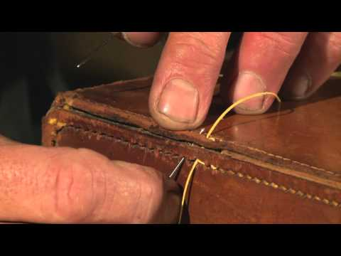 How to Restore Leather Goods Pt 2