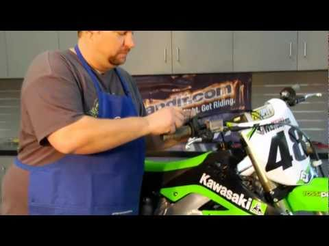 How-To Install Dirt Bike Grips at BikeBandit.com