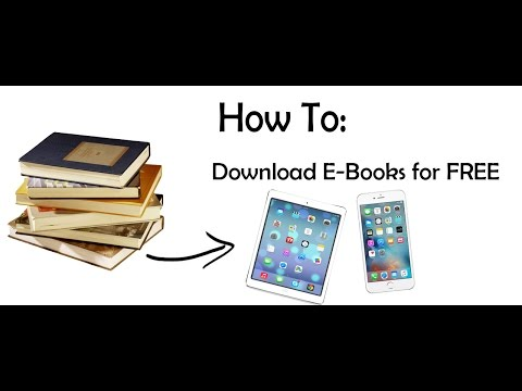 How To: Download FREE BOOKS (IPad/IPhone)