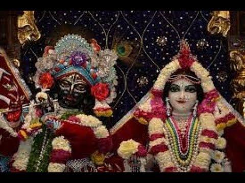 Sri Sri Radha Madan Mohan Temple Mangal Arati Darshan 23rd March 2018 Live from ISKCON Ujjain