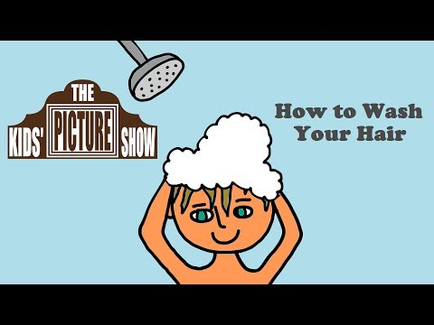 How to Wash Your Hair - The Kids' Picture Show (Fun & Educational Learning Video)