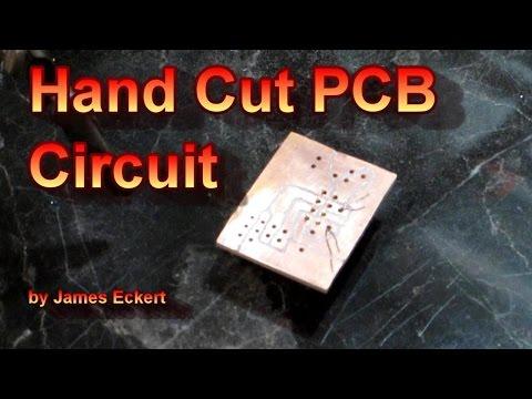 Hand Cut PCB Circuit