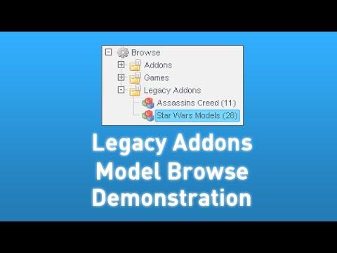 Installing Legacy Addons