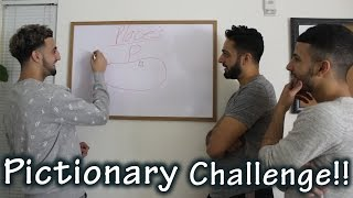 HILARIOUS PICTIONARY CHALLENGE!!