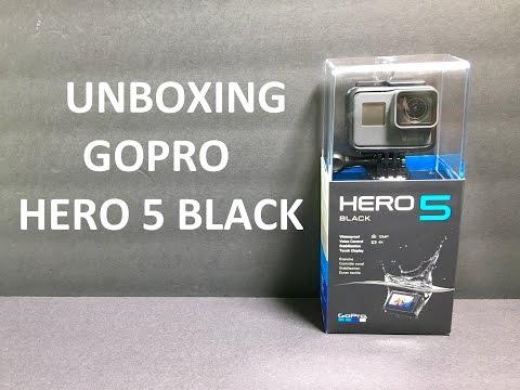 Unboxing GoPro Hero 5 Black