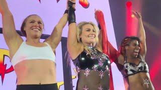 Ronda Rousey gets rowdy in Geneva, Switzerland