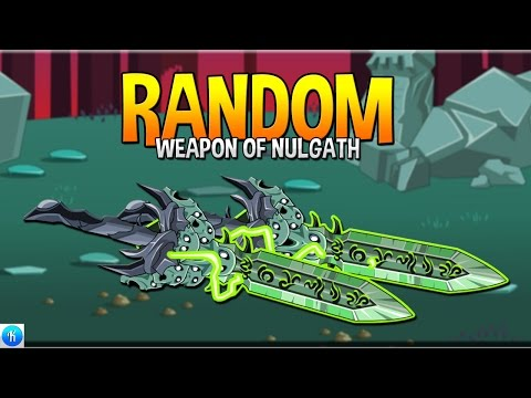 HOW TO GET RANDOM WEAPON OF NULGATH! AQW 2016 ⚠