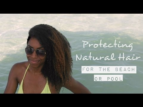 Natural Hair Care For Swimming