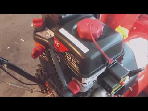 how to start a Gas Snow Blower  - quick instruction