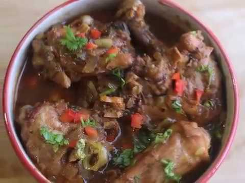 Full Course Meals  Caribbean cuisine- Pimento Stewed Chicken