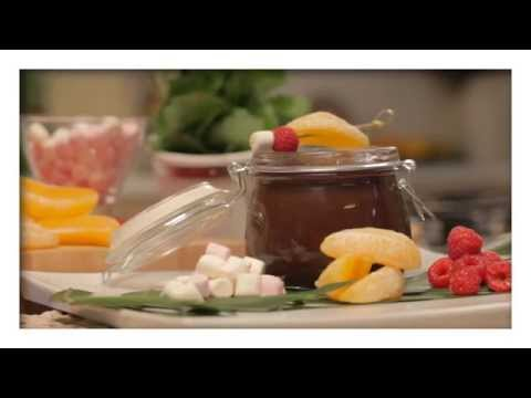 Dream Whip Recipe   Easy Chocolate Fondue with Fruit and Marshmallows
