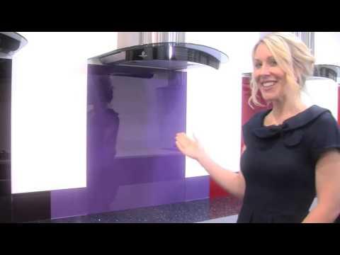Red - Colour Toughened Glass Splashback
