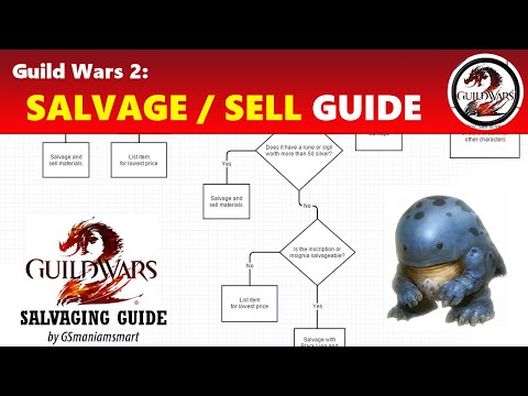 Guild Wars 2: To Salvage or Not to Salvage (Salvaging Guide w/ Chart)