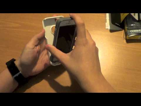 OtterBox Commuter Series iPhone 5-Glacier Unboxing