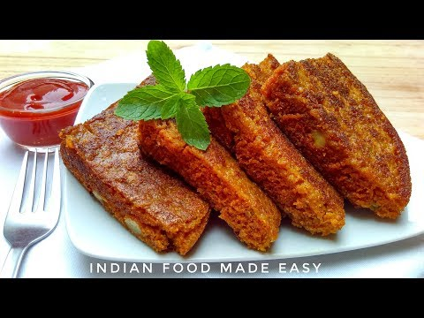 Aloo Sponge Snack Recipe in Hindi by Indian Food Made Easy