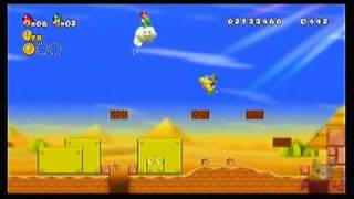 New Super Mario Bros Wii - Star Coin Location Guide - World 1-3