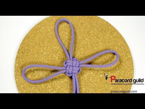 Good luck knot/Shamrock knot- modified a lil'