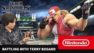 Super Smash Bros. Ultimate – Battling with Terry Bogard (Nintendo Switch)
