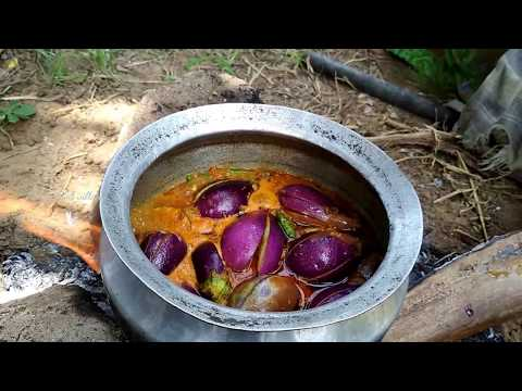 Gutti Vankaya Koora 2017 - Brinjal Masala Curry Village Style - Cooking Eggplant - Baingan Recipe