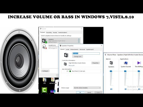 [INCREASE] Increase Volume In Window 7,vista,8,10