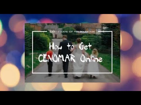 How To Get CENOMAR Online - NSO Philippines