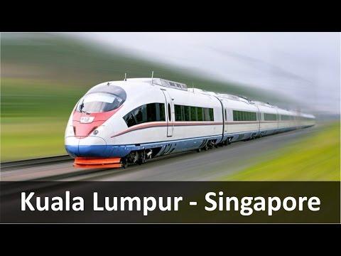 High Speed Rail: Kuala Lumpur to Singapore in 1.5 Hours