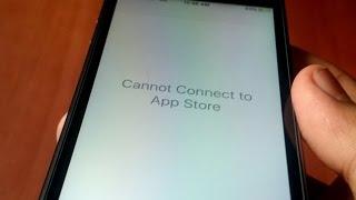 App store not working IOS 9.3.2