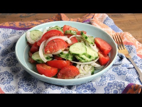 Easy Tomato & Cucumber Salad | Episode 1175