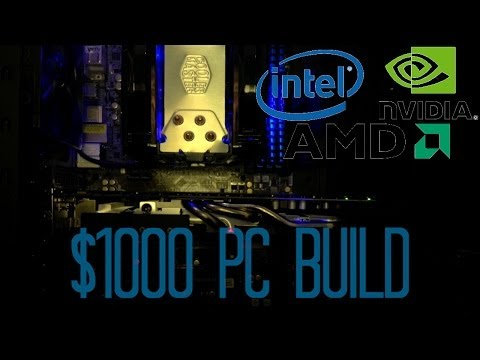 January 2014 - $1000 Intel & AMD PC Build Guide