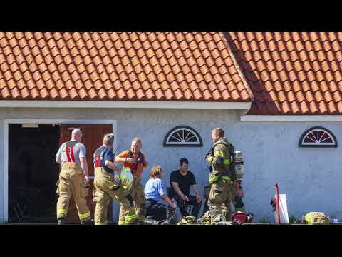 Firefighters contain movie house fire at Nelis' Dutch Village
