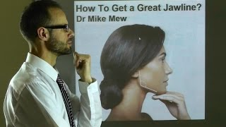 How To Get A Great, Prominent Jawline by Improving Body, Neck & Tongue Posture by Dr Mike Mew