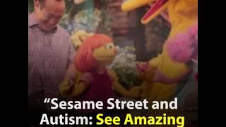 Anggota Sesame Street Baru Penyandang Autisme