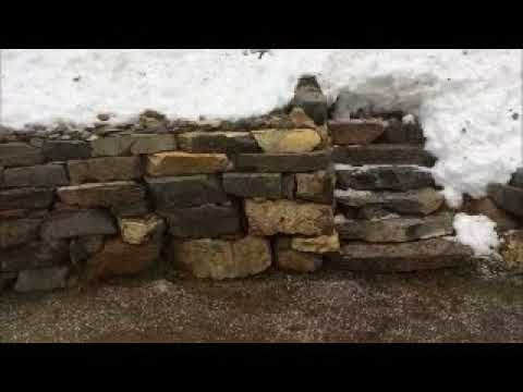 Mahoney's Rock Wall and Stairs