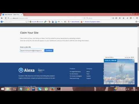 How To Improve Alexa Rank Instantly For FREE in 2015!!