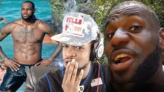 OMG LEBRON JAMES VLOG!!! DAY IN THE LIFE OF LEBRON JAMES