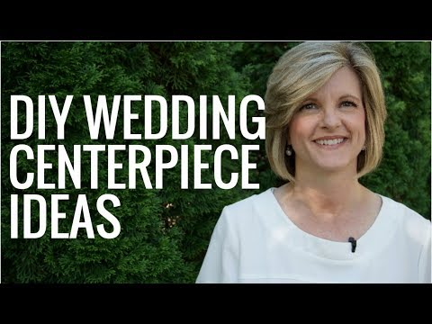 EASY DIY Wedding Centerpiece Ideas