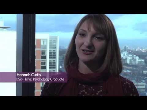 Hannah Curtis - BSc (Hons) Psychology at UWL