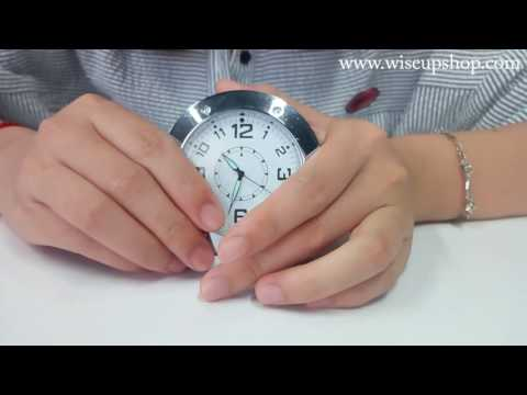 WISEUP Delicate Clock Hidden Camera Operation Instruction and Demo (Model Number: DVW-0014)