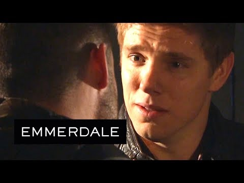 Emmerdale - Robert Refuses to Accept Aaron's Love