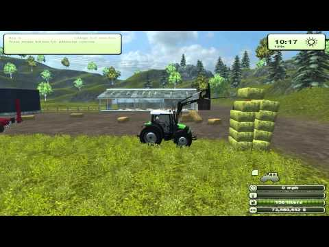 Feeding Cows 1 | Farming Simulator 2013 | HD