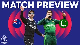 Match Preview - New Zealand vs Pakistan | ICC Cricket World Cup 2019
