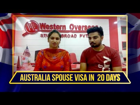 Australia Spouse Visa in 20 Days - Western Overseas