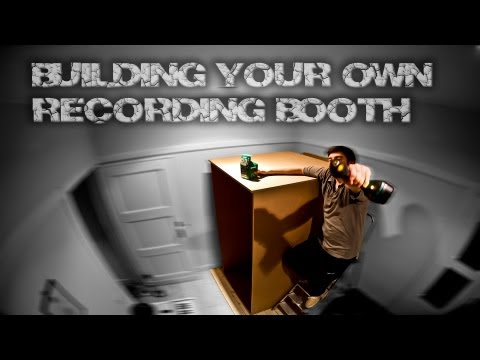 Build a DIY Recording Booth for your Home Studio
