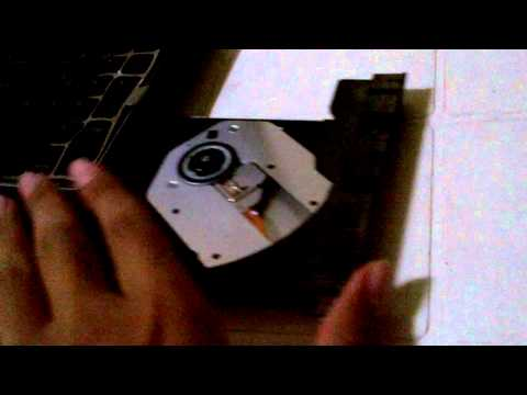 How To open a stuck cd drive
